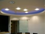 кръгли окачени тавани от гипсокартон