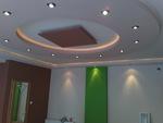 изграждане на кръгъл окачен таван от гипсокартон по поръчка