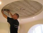модерен кръгъл окачен таван по поръчка