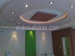 изработка на кръгъл окачен таван от гипсокартон по поръчка
