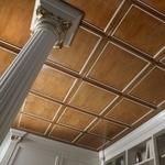 Изпълнение на нестандартни проекти за окачени тавани от дърво