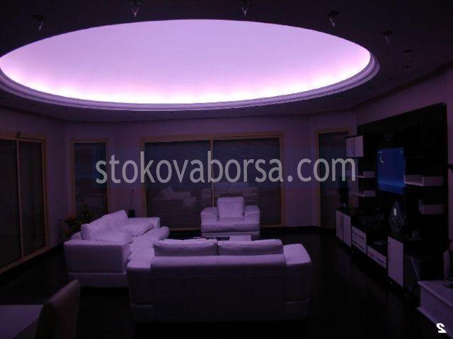 модерен кръгъл окачен таван