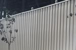 плътни метални огради