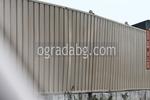 изработка на плътни метални огради
