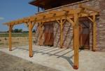изграждане на дървени перголи за градината