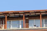дървена пергола за тераса