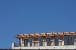 дървена пергола за тераса по поръчка