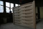 дървена ограда от дървено пано 200x110см.