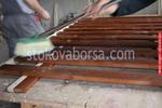 изработка на дървени пана за огради
