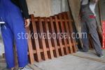 дървени огради боядисани с боя по RAL каталог