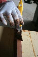 дървени огради с боя по RAL каталог
