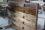 дървени пана 200x125см. за огради