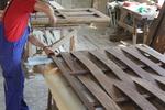 дървена ограда от дървено пано 200x80см.
