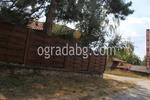 дървени огради по поръчка от дървени пана 200x150см.