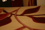 Синтетични машинни килими в бежево-кафявата, оранжевата, червената и зелената гама