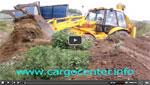 Изравняване на терен с булдозер