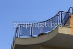 балконски парапети от метал и стъкло по поръчка