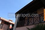 дървени парапети от чам за тераси