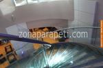 изработка на парапети от инокс и стъкло за стълби по поръчка