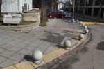 антипаркинг сфери от бетон по поръчка