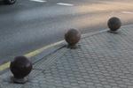 бетонни антипаркинг сфери