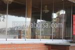 Безпрофилни стъклени системи по поръчка за кафенета