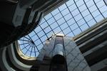 стъклена покривна конструкция