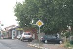 производство на пътни знаци относно предимство